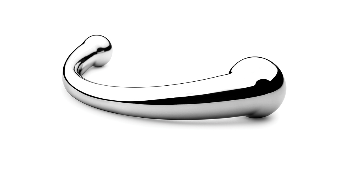 njoy Pure Wand. The orignal and legendary stainless steel adult toy.